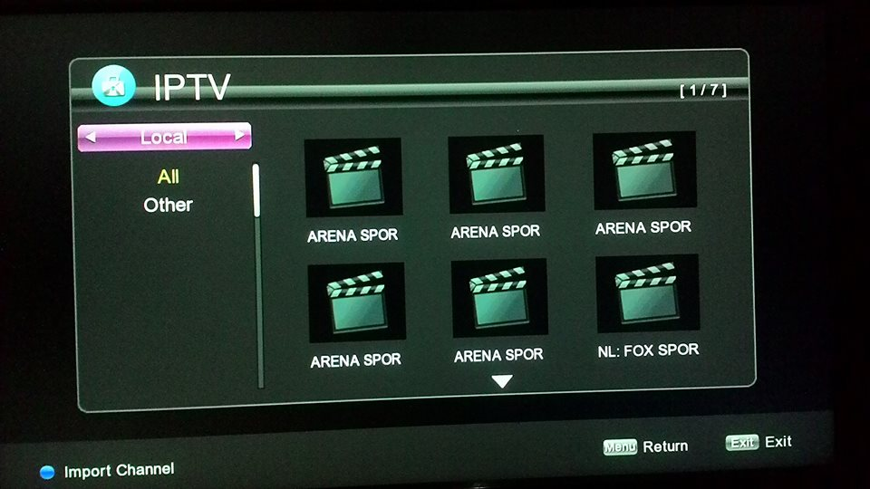 Fitur-fitur Chipset IP TV Online